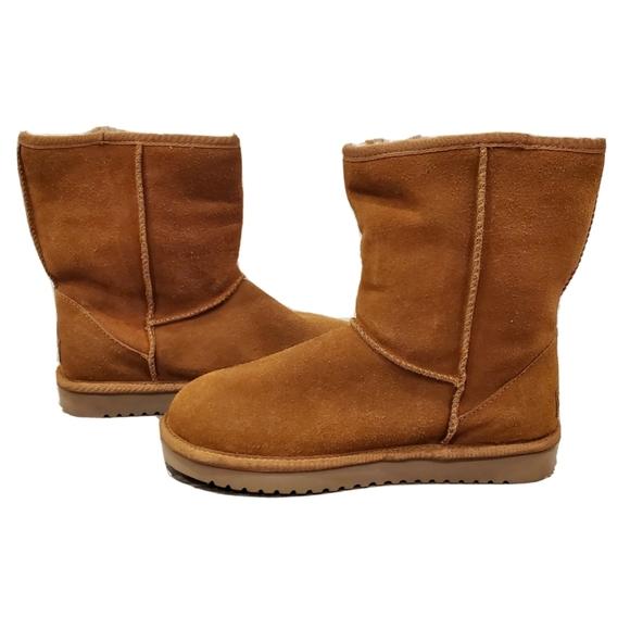 NEW Koolaburra by Ugg Chestnut Classic Short Boots
